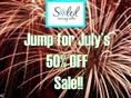 Jump for July's 50% off sale
