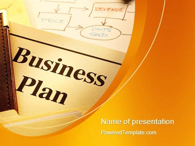 business plan flowchart powerpoint template |authorstream, Presentation templates