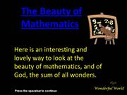 PPT_the-beauty-of-mathematics