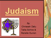 Judaism Religion Projecy