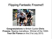 Flipping Fantastic Froome - Make A Million Dollars