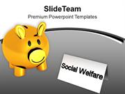 Social Welfare Concept Charity Competition PowerPoint Templates PPT Th