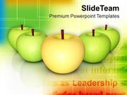 Apples Source Of Vitamins And Minerals Health PowerPoint Templates PPT