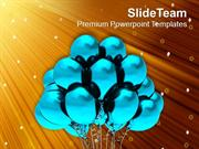 Balloons To Show Celebration Theme PowerPoint Templates PPT Themes And