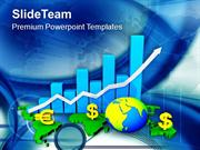 Global Business Economy And Growth PowerPoint Templates PPT Themes And