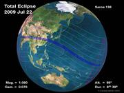 Total Solar Eclipse of 22 July 2009