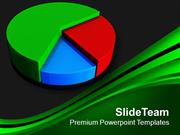 Pie Chart Dark Theme Color Business PowerPoint Templates PPT Themes An