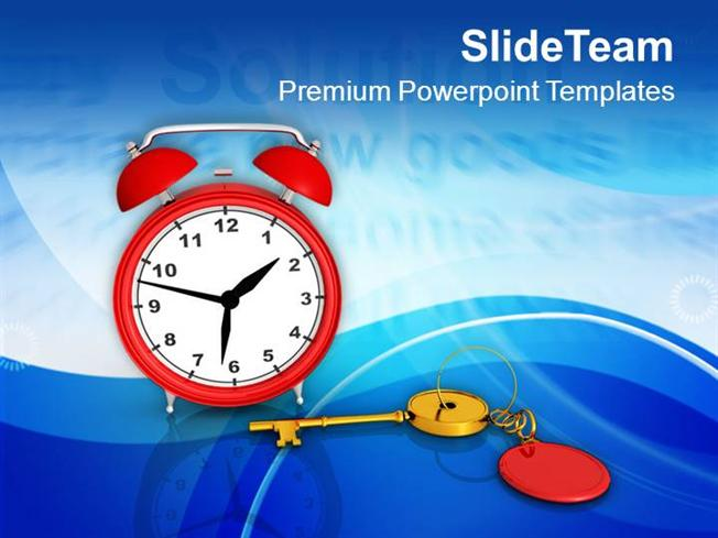 Solution key alarm clock time management powerpoint templates ppt solution key alarm clock time management powerpoint templates ppt authorstream toneelgroepblik Gallery