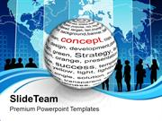 Ball With Inscription Concept PowerPoint Templates PPT Themes And Grap