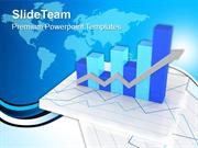 Business Growth Bar Graph PowerPoint Templates PPT Themes And Graphics