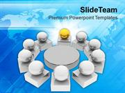 Business Meeting Teamwork PowerPoint Templates PPT Themes And Graphics