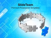 Complete The Cycle With Right Solution PowerPoint Templates PPT Themes