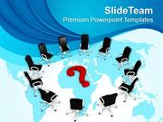 Team Meeting For Business Solution PowerPoint Templates PPT Themes And