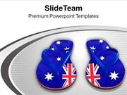 American Flip Flops PowerPoint Templates PPT Themes And Graphics 0413
