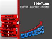 Analysis Of Success Business PowerPoint Templates PPT Themes And Graph