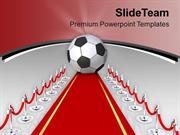 Award Ceremony For Victory Team PowerPoint Templates PPT Themes And Gr