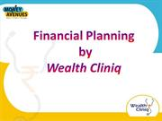 Financial planning - Wealth Cliniq