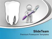 Healthy Teeth PowerPoint Templates PPT Themes And Graphics 0413