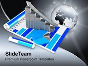 Business Graph With Pie Chart PowerPoint Templates PPT Themes And Grap