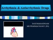 01 Antiarrhythmic Drugs