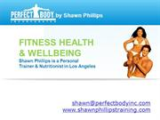 Perfect Body Inc. - Personal Trainer Los Angeles
