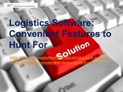 Managing Transport Company with Reliable Logistics Software