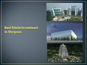 Real Estate Investments in Gurgaon