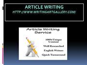 Article writing-3