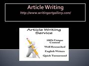 Article writing-4