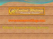 Web Ccontent Writing Services