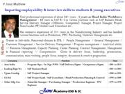 JAMS Academy - Employability Skills Development & Interview Coaching