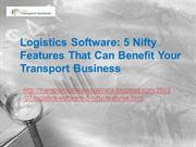 Logistics Software: Helps your Business Generate Maximum Profits