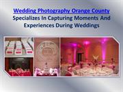 Wedding Photographers Orange County