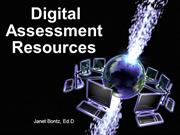 Digital Assessment Resources