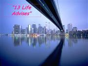13_Life_Advices