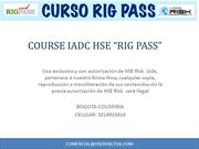 CURSO RIG PASS COLOMBIA