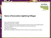 Lightning Villages
