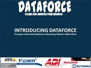 Dataforce - Security Systems Integrator for West Africa