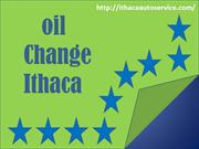 oil change ithaca