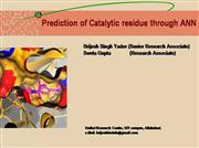 Catalytic residue Structure prediction