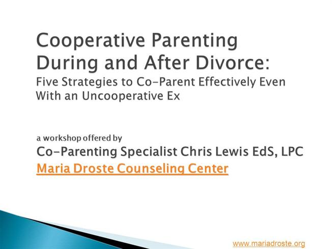 Cooperative Parenting Workshop Authorstream