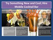Mobile Cocktail Bar