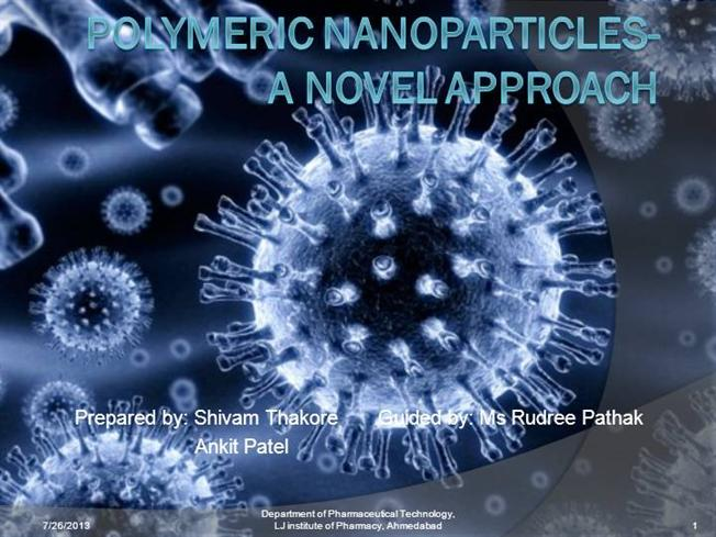 Polymeric Nanoparticles A Novel Approach Authorstream