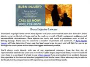 Burn Injuries Lawyer