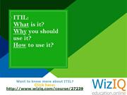 ITIL Workshop