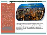 Philippine City Manila on very cheapest price £509.00 from UK