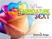 when Agriculture becomes sexy by sotonye anga.1ppt