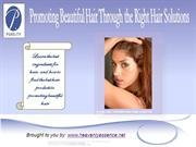 Promote Beautiful Hair Through the Right Hair Solutions