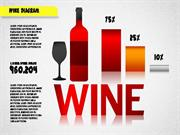 Wine Diagram for PowerPoint by PoweredTemplate.com