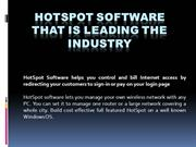 HotSpot Software That is Leading the Industry 1